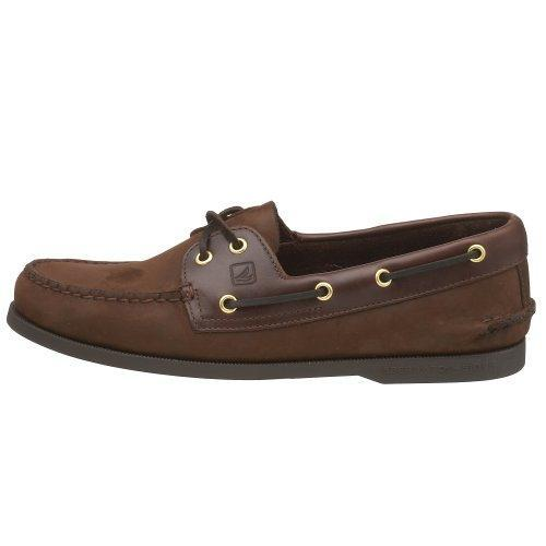 Men's Sperry Topsider, Authentic Original Boat Shoe BROWN SUEDE 12 WW