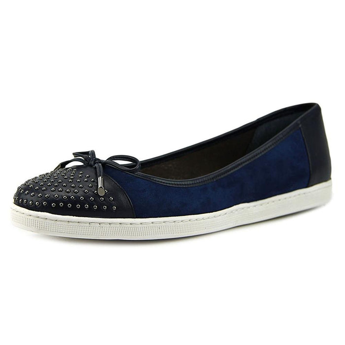 J. Renee Marenda W Round Toe Leather Flats