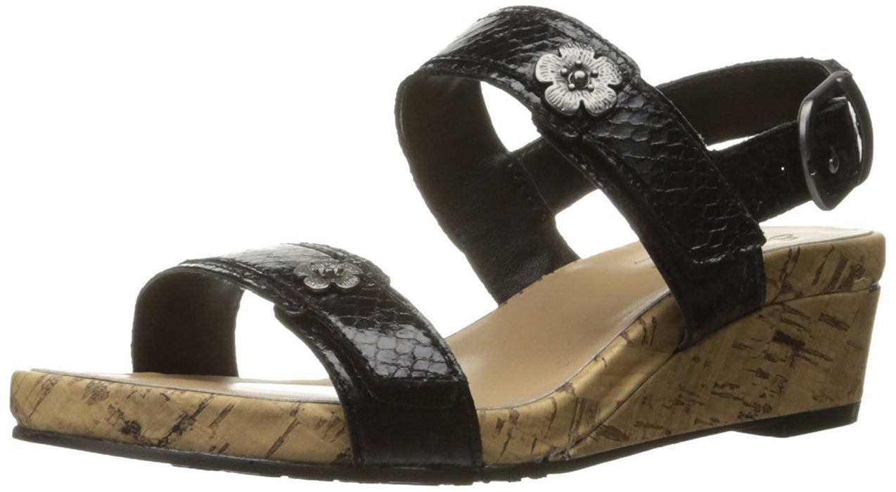 Soft Style Hush Puppies Women's Ocean Wedge Sandal