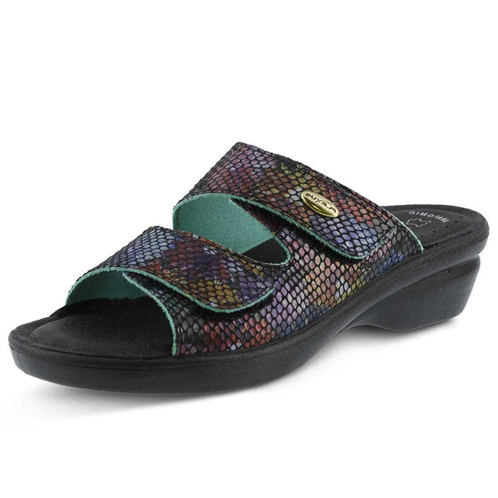 Spring Step Women's Kina Black Multi Sandal