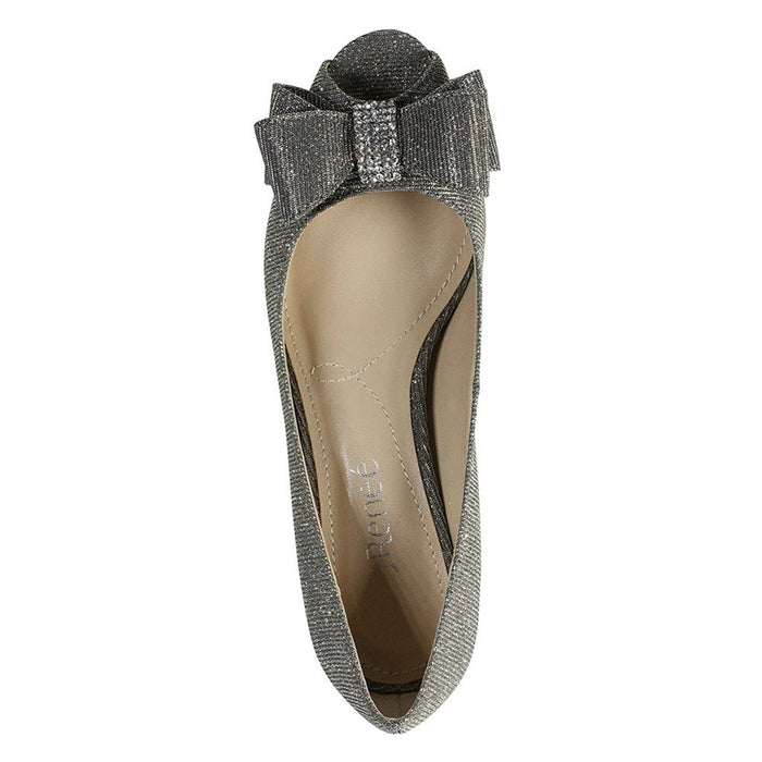 J. Renee Blare Women's Pump 13 C/D US Pewter