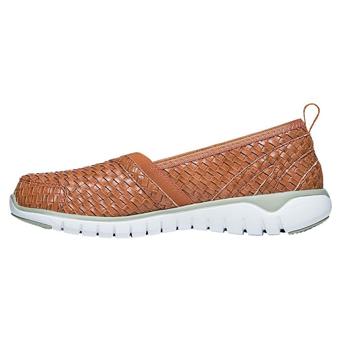 Propét Women's TravelLite Slip-On Woven Burnt Orange 8.5 XX