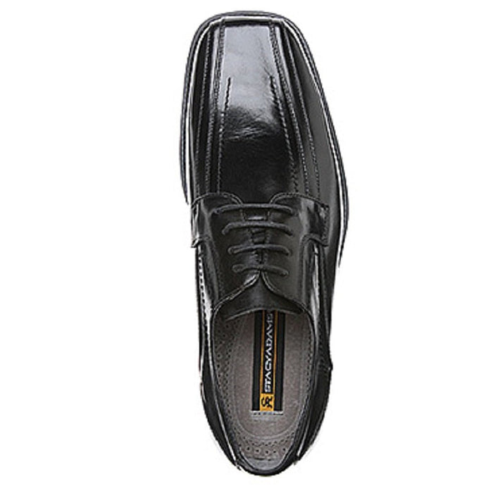 Stacy Adams Mens Corrado, Black, 10 Wide (23274-001)