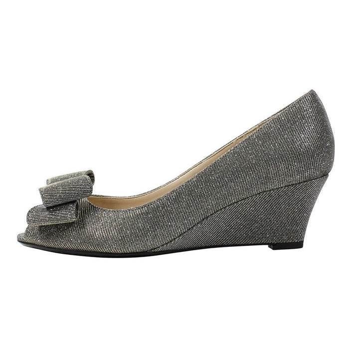 J. Renee Blare Women's Pump 8 C/D US Pewter