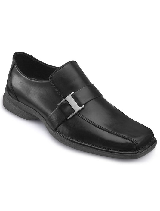 Unlisted by Kenneth Cole Fire Wall Loafers (11 W, Black)