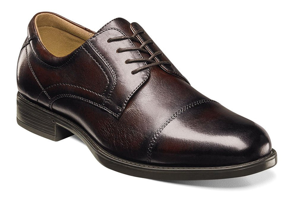 Florsheim Mens Midtown Cap Toe Oxford