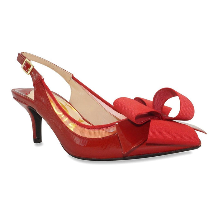 J. Renee Garbi Women's Pump 10 C/D US Red
