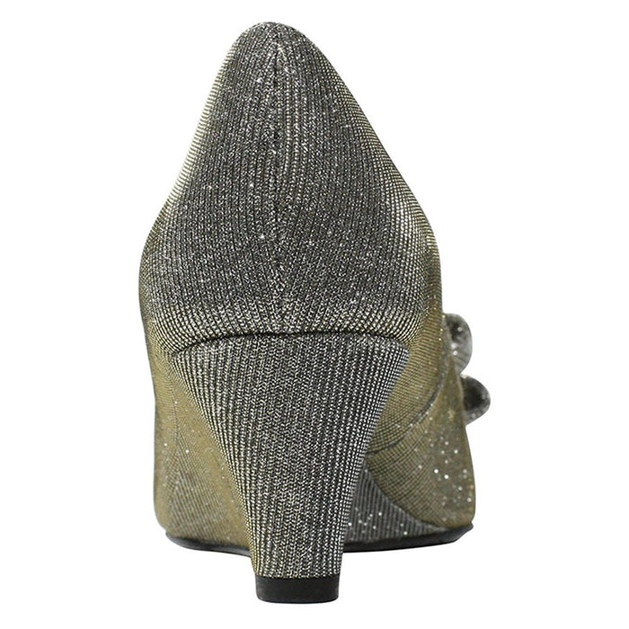 J. Renee Blare Women's Pump 9.5 C/D US Pewter
