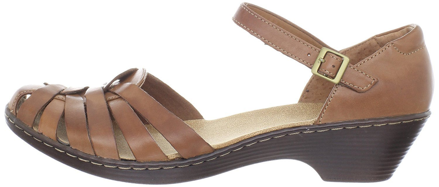 Clarks Women's Wendy Land Black Sandal