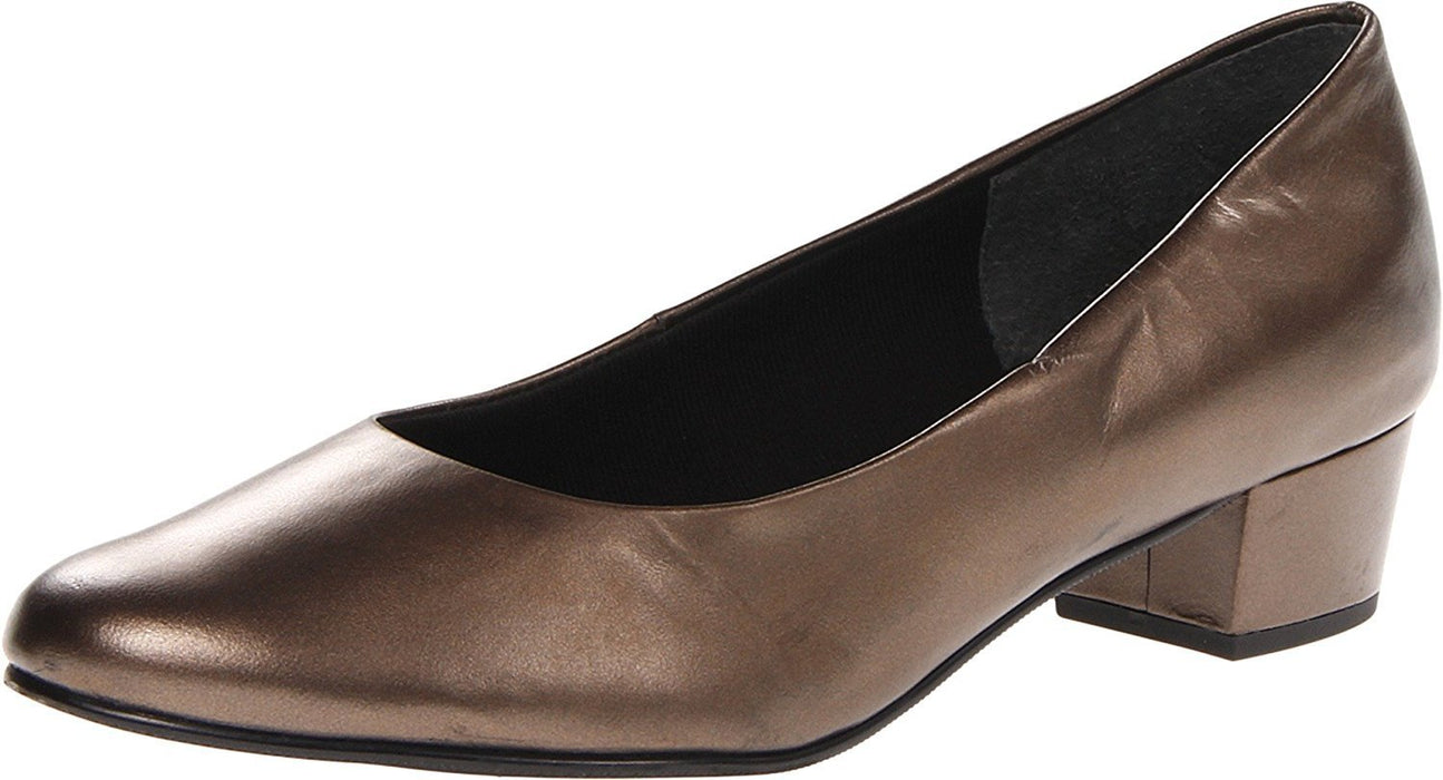 Mark Lemp Classics Women's Emma New Bronze Kid 8 WW