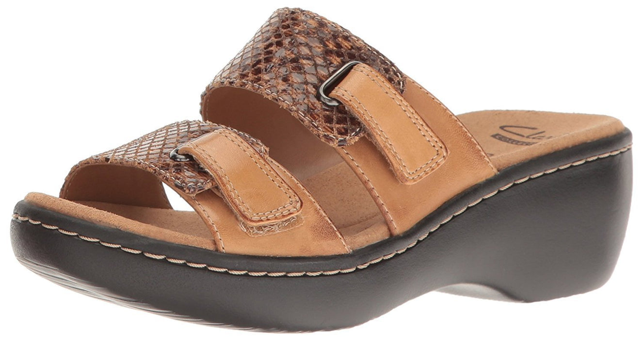 CLARKS Women's Delana Fenela Dress Sandal