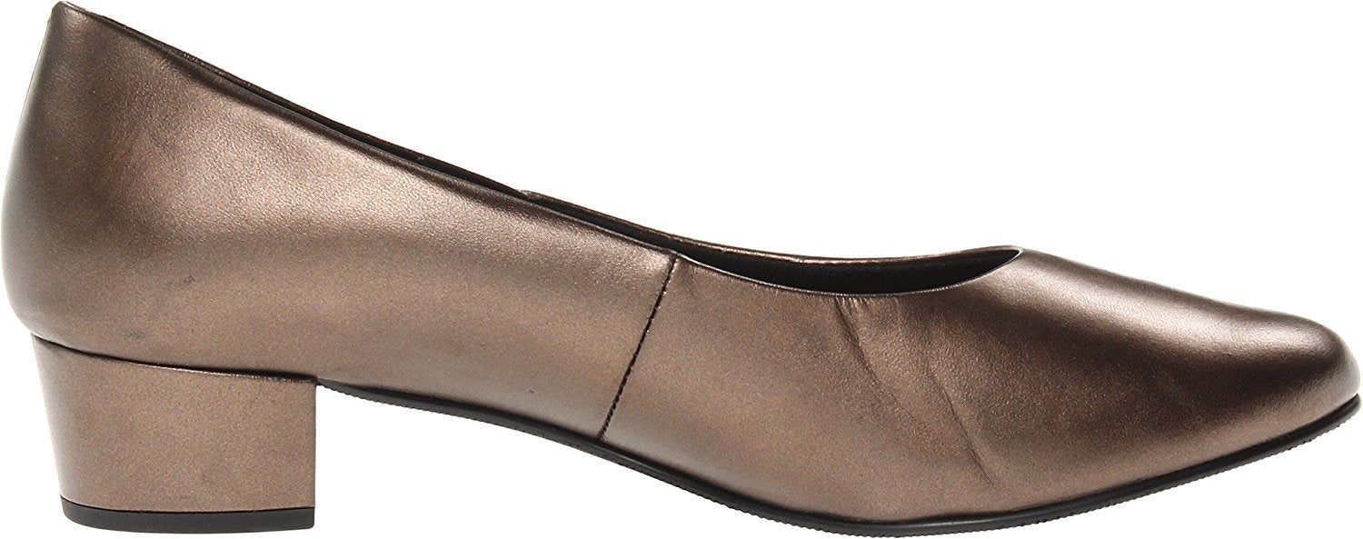 Mark Lemp Classics Women's Emma New Bronze Kid 9.5 W