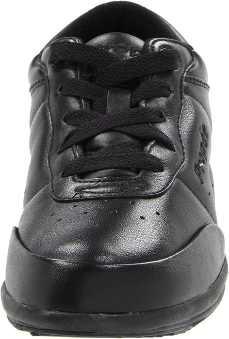 Propet Women's Washable Walker Athletic,Black,8 2E US