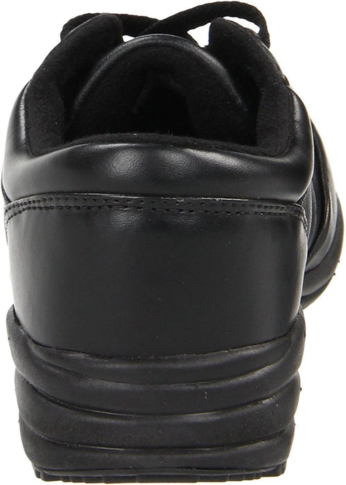 Propet Washable Walker Women 2E Round Toe Leather Black Sneakers