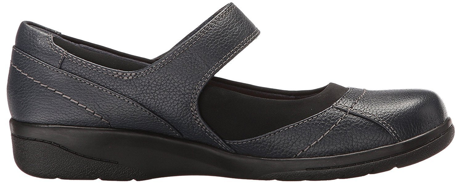 CLARKS Women's Cheyn Web Mary Jane Flat