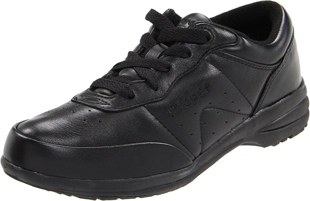 Propet Women's Washable Walker Athletic,Black,9.5 2E US