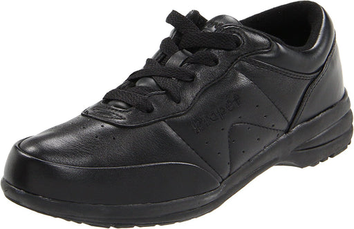 Propet Women's Washable Walker Athletic,Black,7.5 2E US