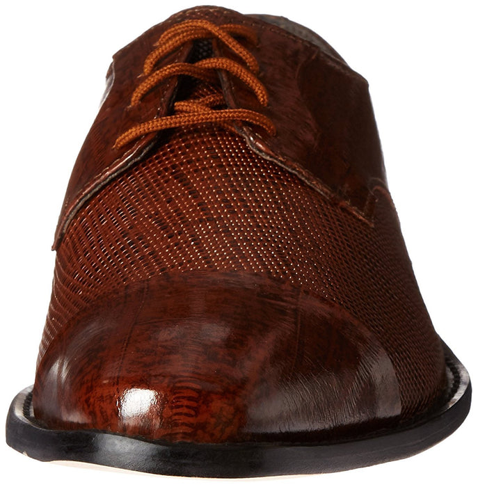 Stacy Adams Men's Gatto Leather Sole Cap Toe Oxford