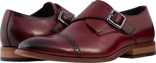 Stacy Adams Men's Desmond Cap Toe Monk-Strap Loafer