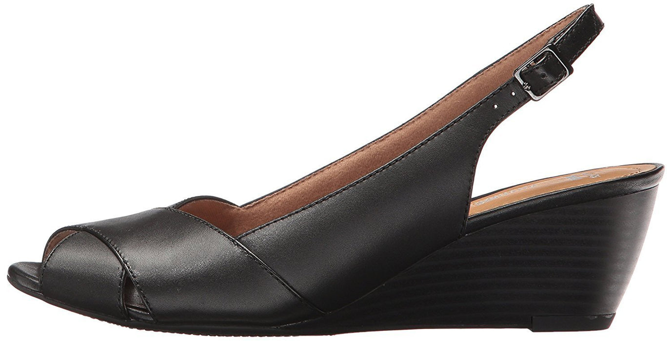 CLARKS Women's Brielle Kae Wedge Pump