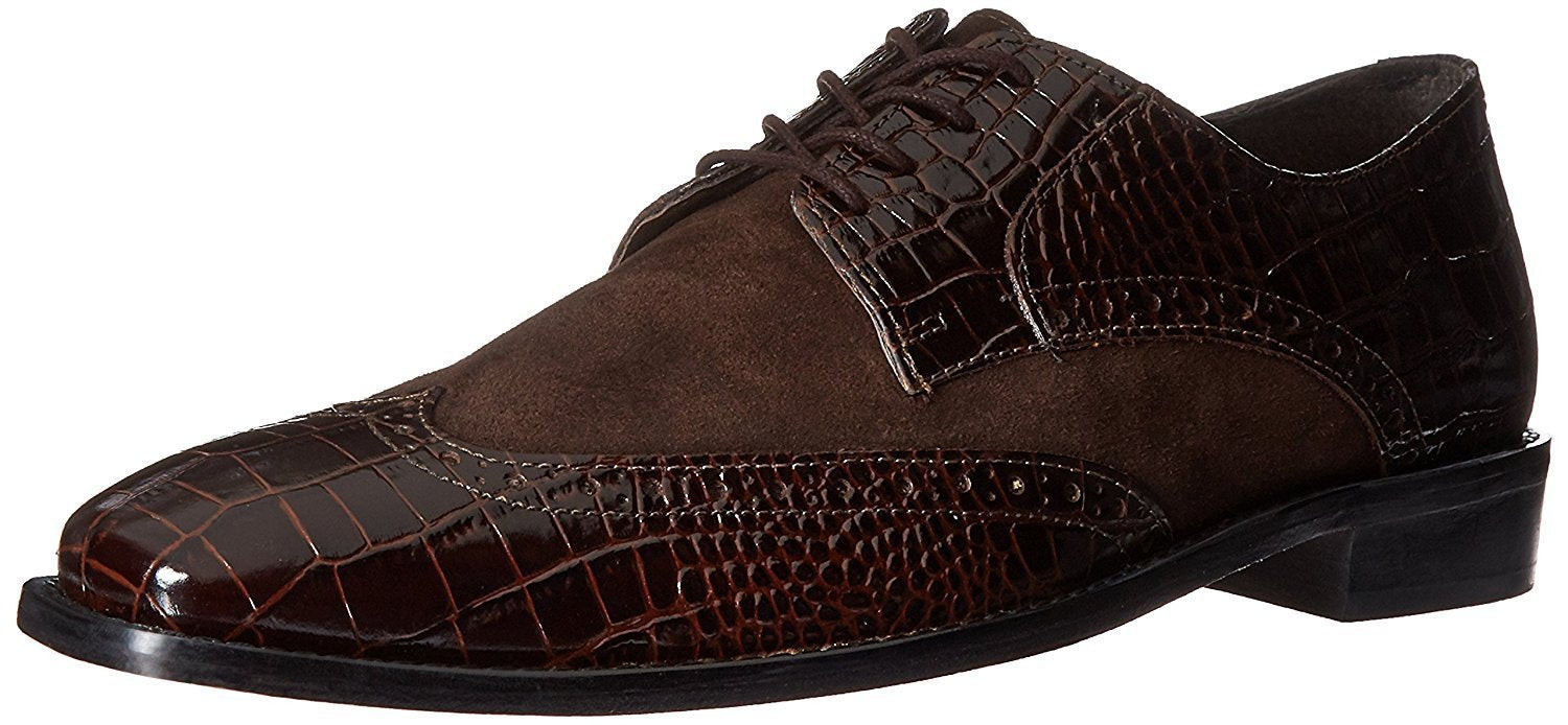 Stacy Adams Men's Arturo Leather Sole Wingtip Oxford