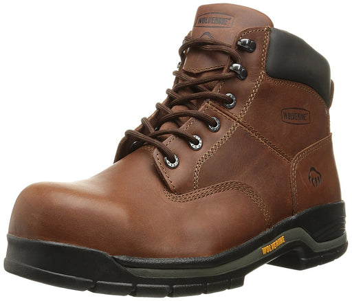 "Wolverine Men's Harrison Lace-Up Steel-Toe EH 6"" Work Boot"