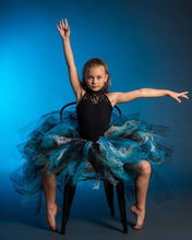 Turquoise & GLiTTeR High Low style Tutu