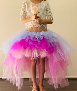 Lavender & Purple OmbRÉ High Low TUTU