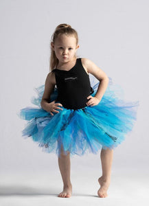 Bright Turquoise Lace Short Tutu