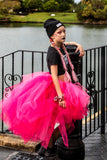 Pinky Pink Love High Low Tutu