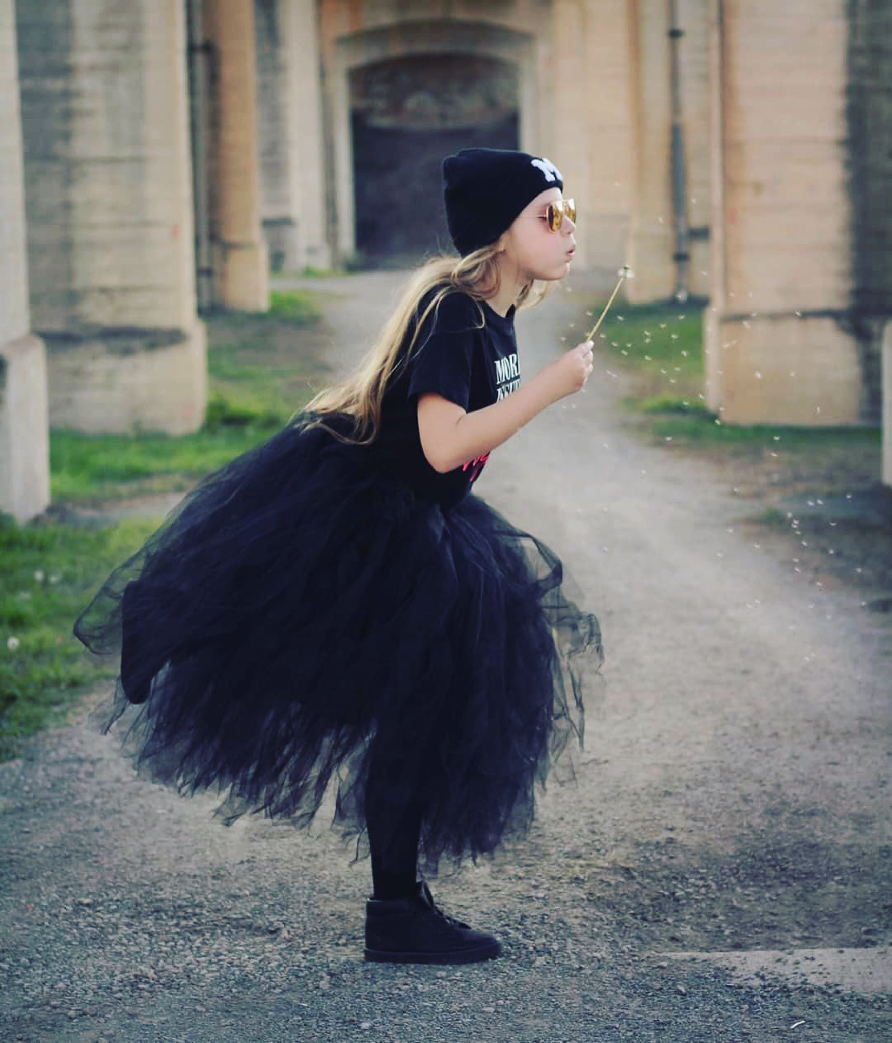 Black Long Length Tutu