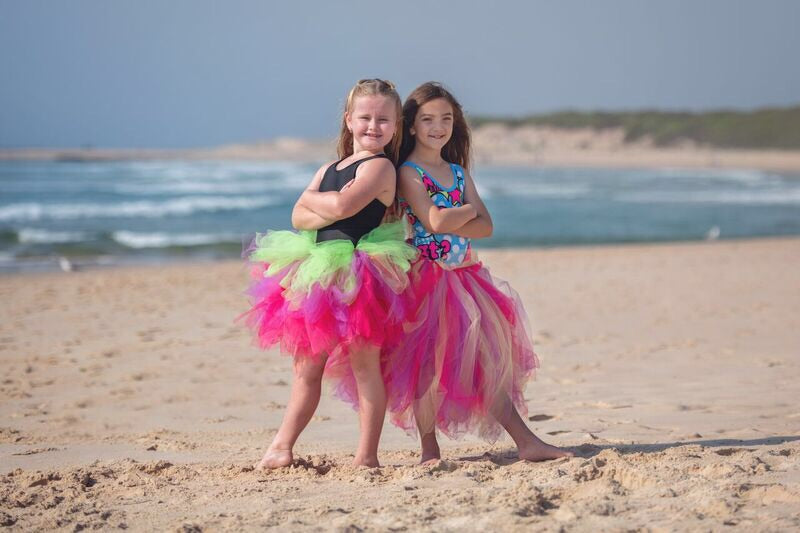 Neon Love MiD Length Tutu