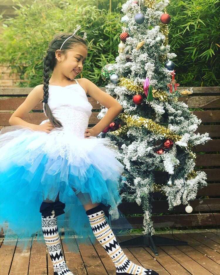 Sweet Blue OmbRÉ High Low TUTU