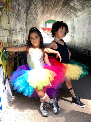 Love Rainbows High Low tutu