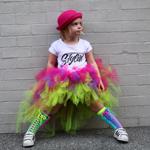 Brightest Punk High low tutu