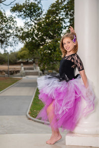 Purple Punk love OmbRÉ High Low TUTU