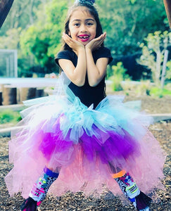 Teal & Purple OmbRÉ High Low TUTU