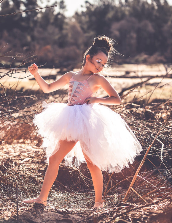 Pure White High Low style Tutu