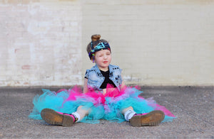 Cotton Candy OmbRÉ High Low TUTU