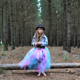 Mermaid Vibes High Low style Tutu