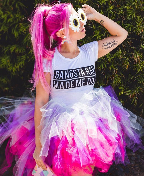 adult tutu, custom tutu, highlow tutu, punk tutu, pink tutu, purple tutu, white tutu, birthday tutu, festival tutu