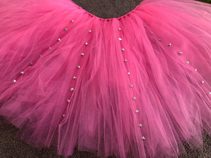 Hot Pink & Punk Rock Studs Short Tutu