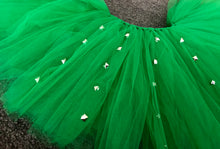 Green & Punk Rock Studs Short Tutu
