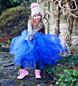 Shades of Blue Mid Length TuTu