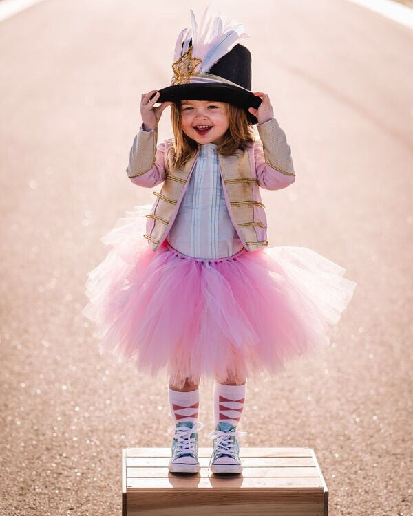 Powder PinK & Gold Glitter Short & Fluffy Tutu