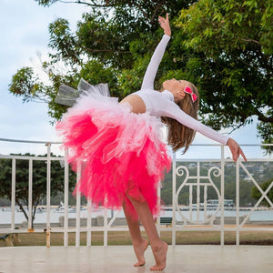 Princess Pink OmbRÉ High Low TUTU