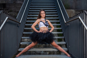 BLaCk Fluffy Short TUTU
