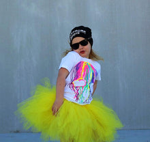 Simple Yellow Short Tutu