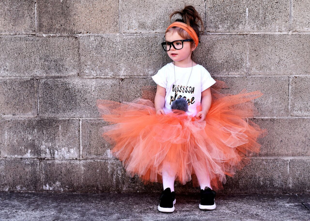 ORanGE TUTU festival halloween cakesmash birthday tutu