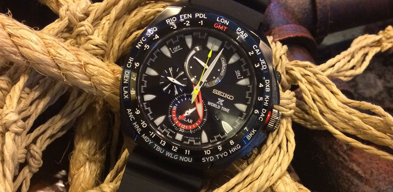 Watch Review: Seiko Solar Chronograph World Time (SSC551P1)